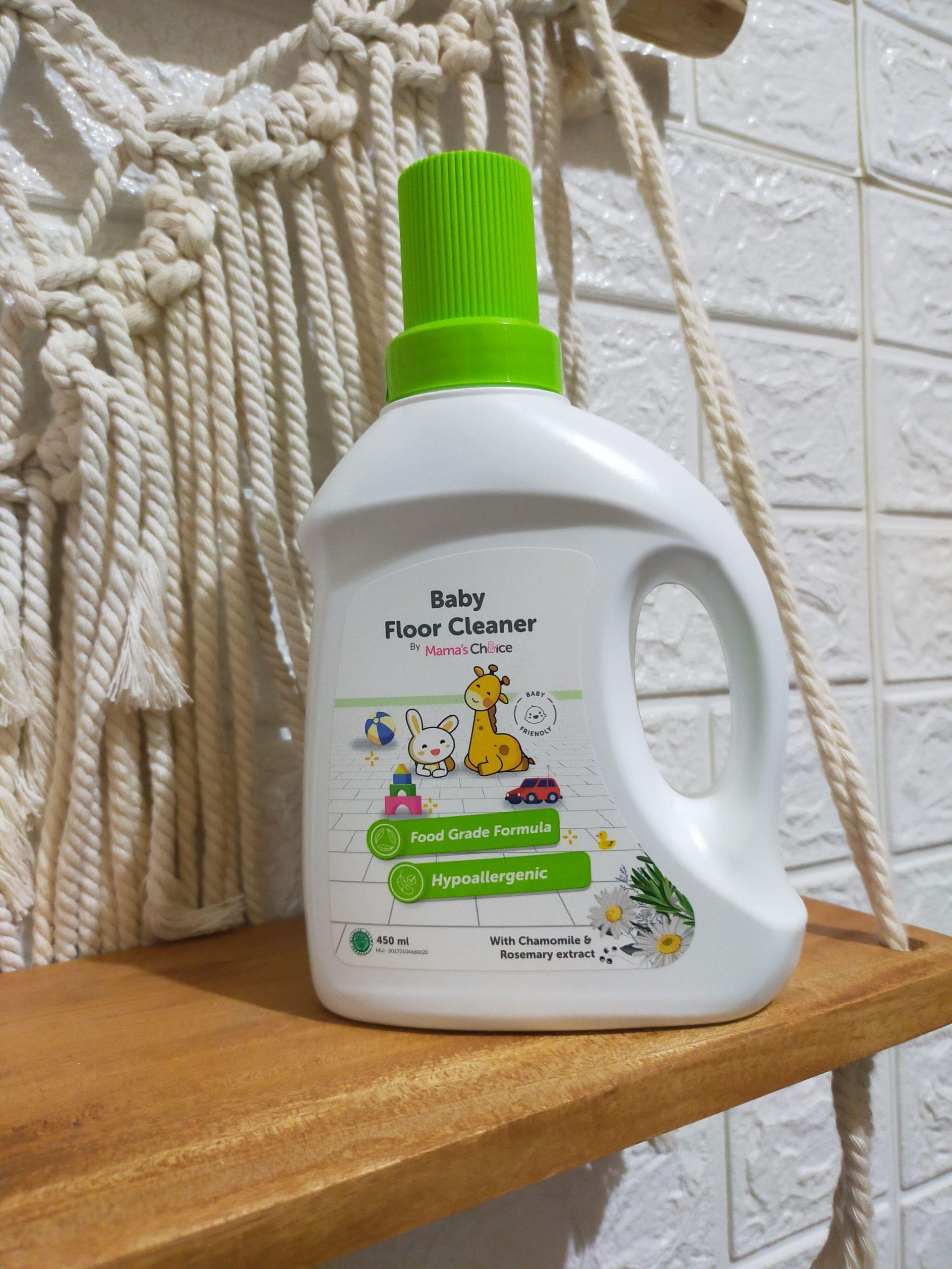 Lantai Bersih Bebas Kuman dan Bakteri Dengan Mama's Choice Baby Floor Cleaner, Anak-anak Bebas Bermain Seharian di Lantai